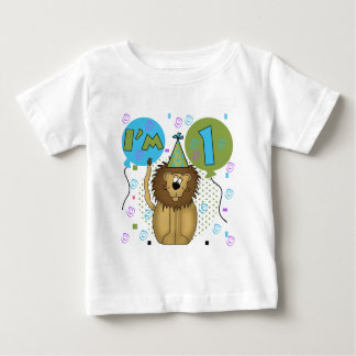 Lion I'm 1 First Birthday Tshirts and Gifts