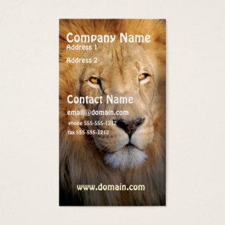 Lion Image Business Card
