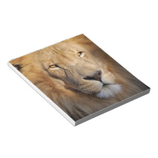 Lion Images Notepad