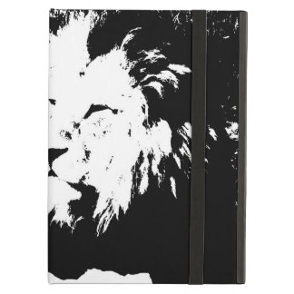 Lion in Black and White iPad Air Cover