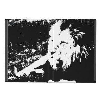 Lion in Black and White iPad Mini Cover