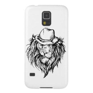 Lion in hat galaxy s5 case