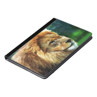 Lion In Nature Impressionist Art iPad Air Case
