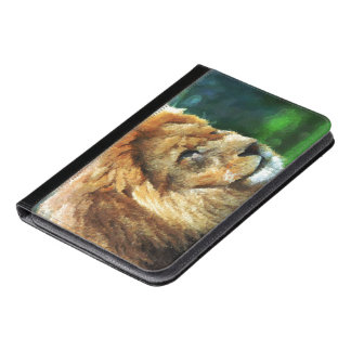 Lion In Nature Impressionist Art iPad Mini Case