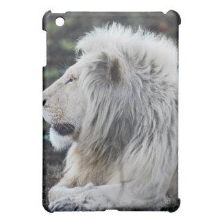 Lion in repose iPad mini cases