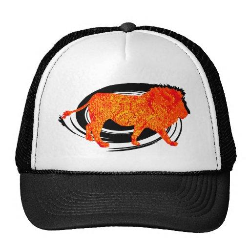 LION IN STRIDE TRUCKER HAT