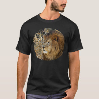 LION IN THE GRASS T-Shirt