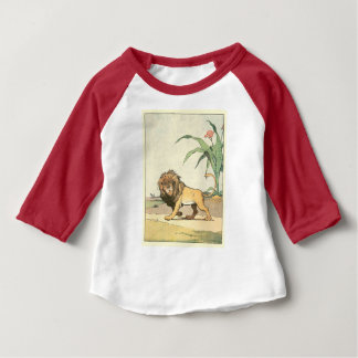 Lion in the Jungle Illustrated T Shirt