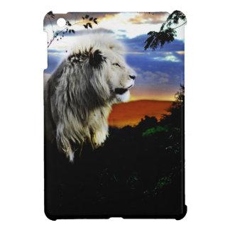 Lion in the jungle iPad mini cases