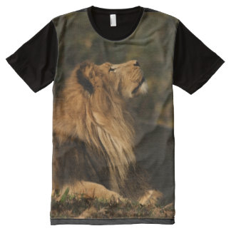 Lion in the sun All-Over print shirt