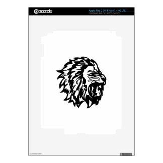 Lion iPad 3 Decals