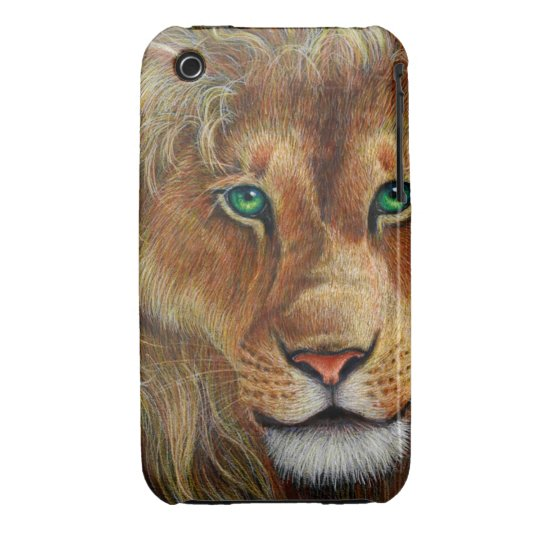 lion iPhone 3 Case-Mate case
