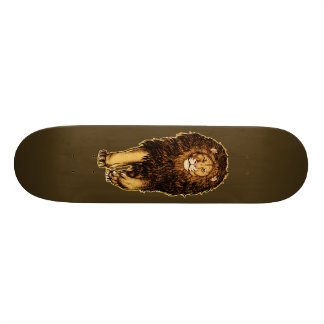 Lion is Coming Children T-shirt Skateboard Deck