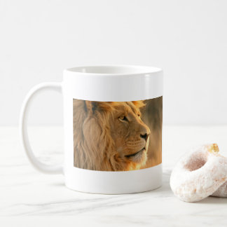 Lion is known to be the King of Beasts Coffee Mug