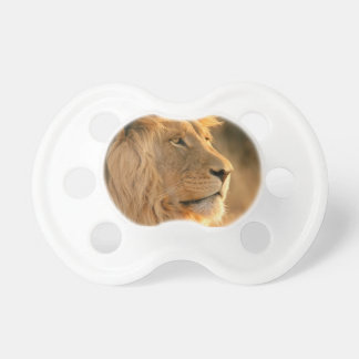 Lion is known to be the King of Beasts Pacifier
