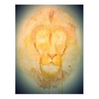 Lion.jpg Postcard