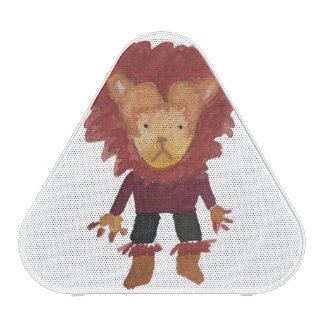 Lion Jungle Friends Baby Animal Water Color Bluetooth Speaker