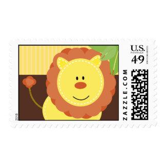 Lion Jungle Stamp