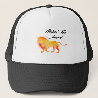 Lion Jungle Trucker Hat