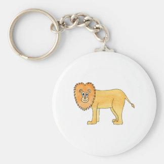 Lion. Keychain