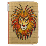 Lion Kindle Folio Cases