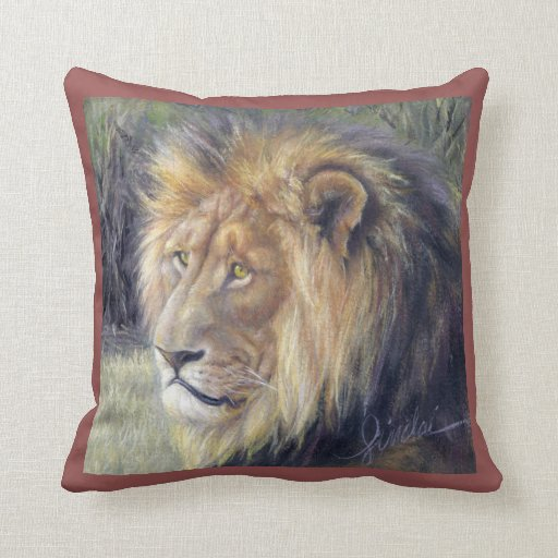 King And Queen Decorative Pillows : Lion King and Queen 16