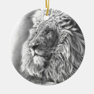 Lion King Ceramic Ornament