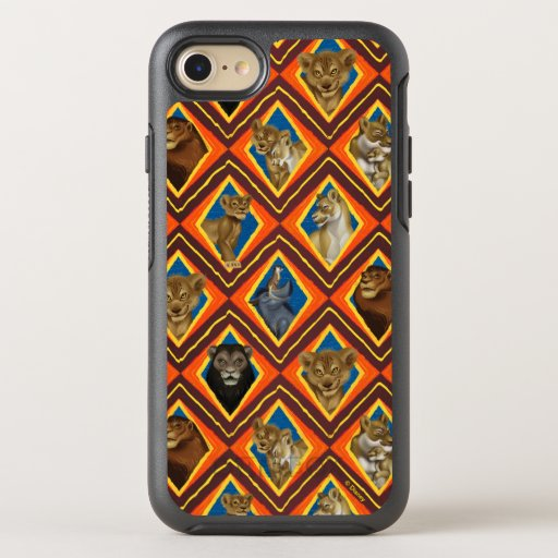 Lion King | Characters Diamond Pattern OtterBox Symmetry iPhone 8/7 Case