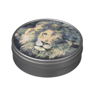 LION KING | Custom Jelly Belly Peek-A-Boo Tin Jelly Belly Tins