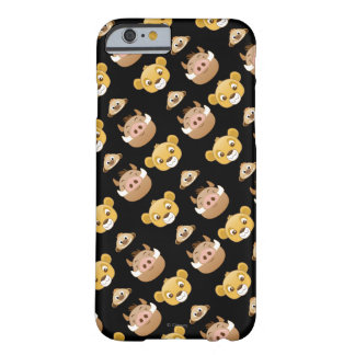 Lion King Emoji Land Pattern Barely There iPhone 6 Case