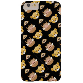 Lion King Emoji Land Pattern Barely There iPhone 6 Plus Case