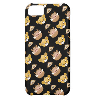 Lion King Emoji Land Pattern Cover For iPhone 5C