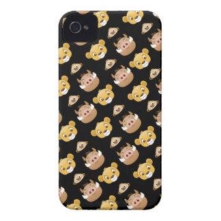 Lion King Emoji Land Pattern iPhone 4 Case-Mate Case