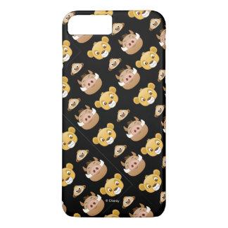 Lion King Emoji Land Pattern iPhone 8 Plus/7 Plus Case