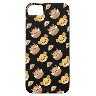 Lion King Emoji Land Pattern iPhone SE/5/5s Case