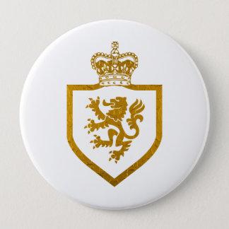 Lion King Gold - Square Button