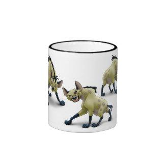 Lion King Hyenas Disney Ringer Coffee Mug