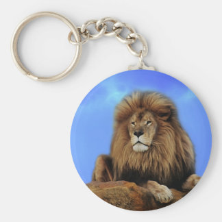 Lion King in Africa Keychain