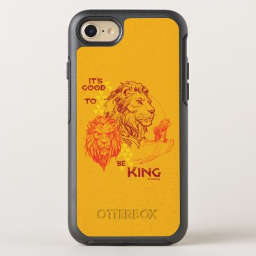 Lion King   It's Good To Be King OtterBox Symmetry iPhone 8/7 Case