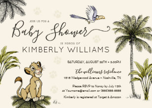 Lion King Invitations Zazzle