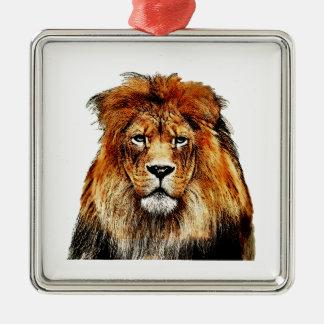 Lion King Metal Ornament