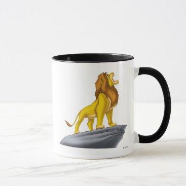 Disney Themed Lion King Mufasa Roaring Disney Mug