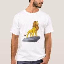Lion King Mufasa Roaring Disney T-Shirt