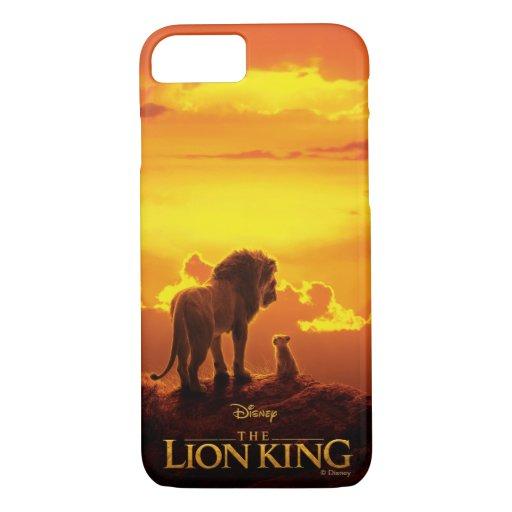 Lion King | Mufasa & Simba At Sunset iPhone 8/7 Case