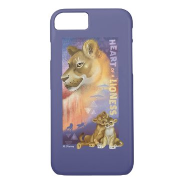 Lion King   Nala and Simba Collage Graphic iPhone 8/7 Case