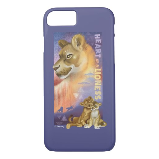 Lion King | Nala and Simba Collage Graphic iPhone 8/7 Case
