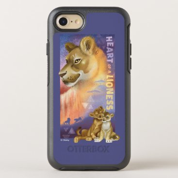 Lion King   Nala and Simba Collage Graphic OtterBox Symmetry iPhone 8/7 Case