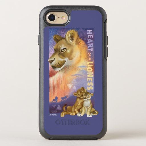 Lion King | Nala and Simba Collage Graphic OtterBox Symmetry iPhone 8/7 Case