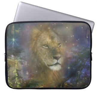 Lion King of Jungle Beasts Computer Sleeve