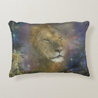 Lion King of Jungle Beasts Decorative Pillow